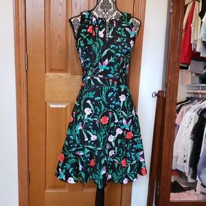 Kate Spade Hummingbird Dress size 6